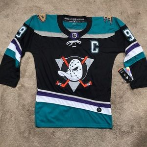 Paul Kariya Anaheim Ducks Throwback Jersey NWT M